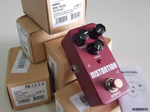 Pedal Distortion Kokko para guitarra