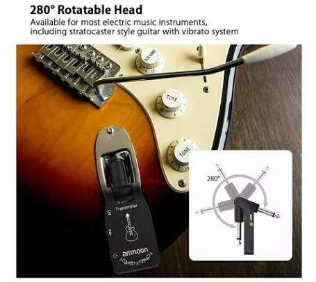 Transmissor sem fio Wirelles para guitarra baixo violão etc. 6 canais