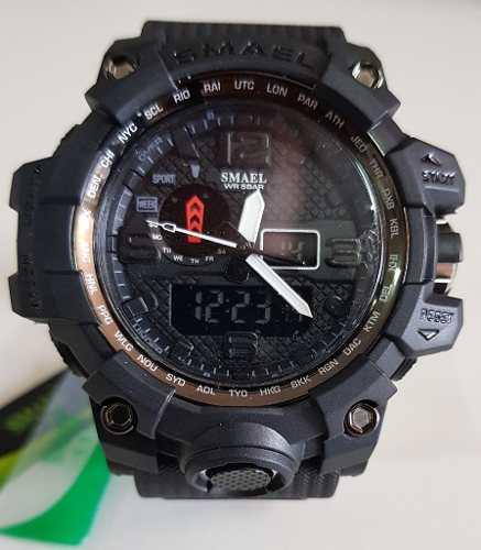 Relógio estilo Gshock militar Smael
