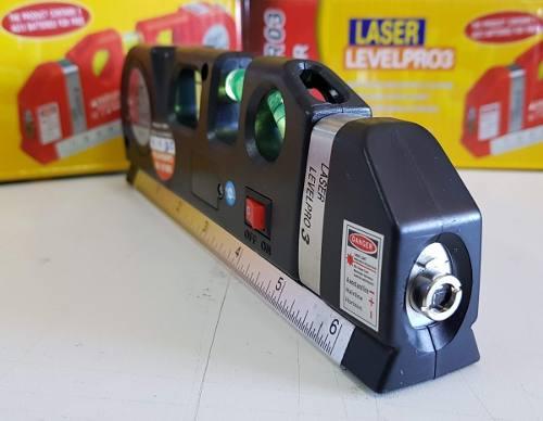 Nivel à laser com trena profissional