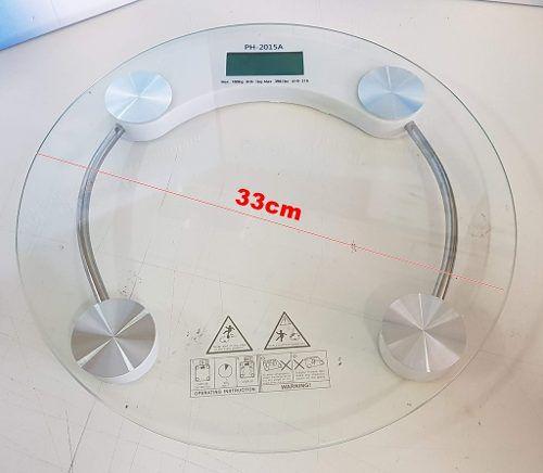 Balança em vidro temperado para peso corporal até 180kg