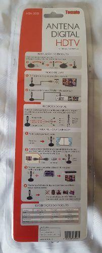 Antena TV Digital Tomate Original A Melhor Do Mercado 3.5 dbi