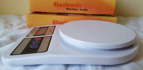 Balança Digital Cozinha Até 10 Kg + Termômetro Culinário Tipo Espeto