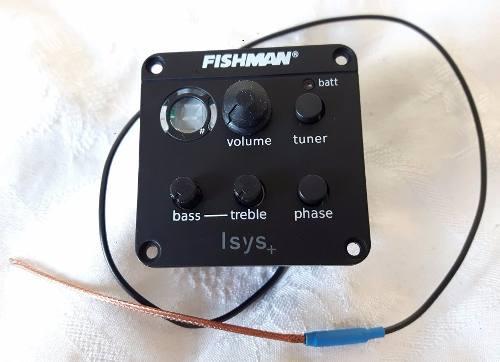 Captador Fishman ISYS+ modelo OEM-ISY-301