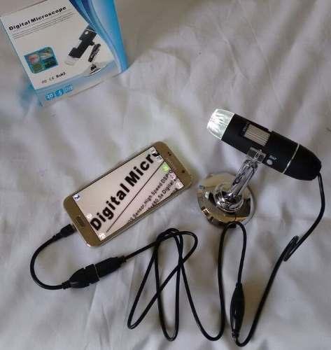 MICROSCÓPIO DIGITAL USB 1000x + CABO OTG PARA CELULAR
