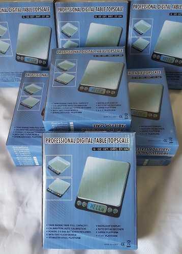 Mini Balança Digital Eletrônica Alta Precisão 0,1g até 2000g
