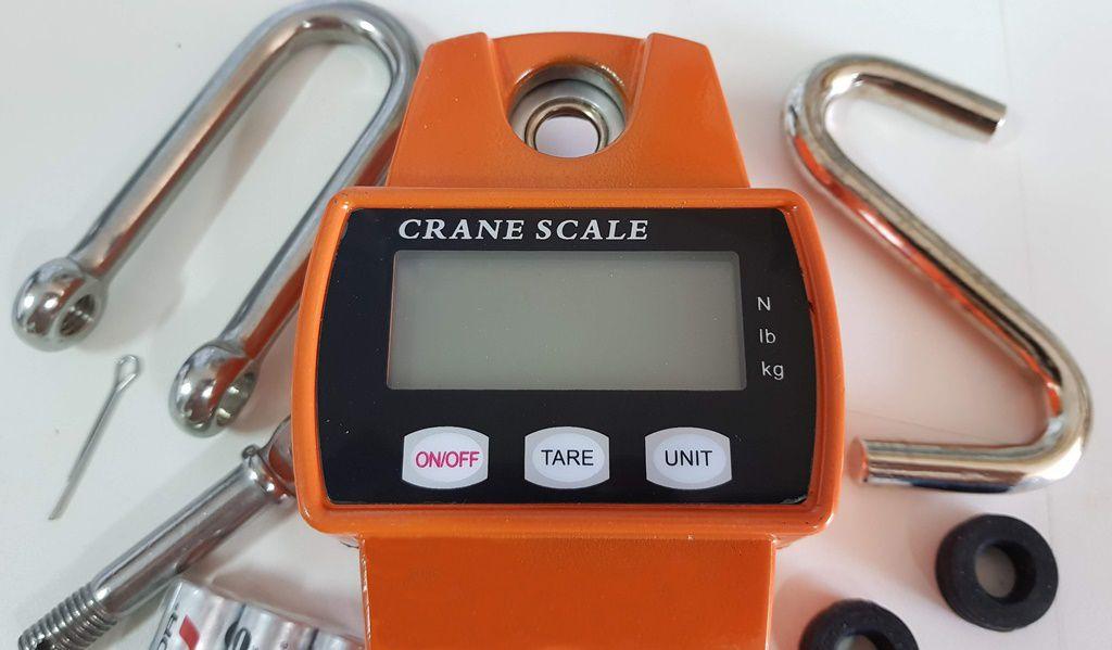 Balança Suspensa com Gancho Digital pesa até 300Kg