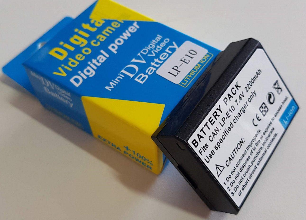 Bateria Similar Para CANON LPE10 2200mAh