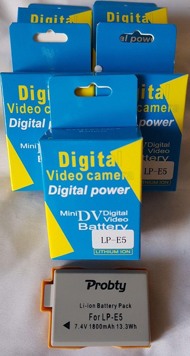 Bateria Similar Para CANON LPE5 1080mAh