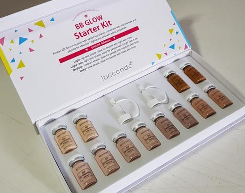 BbGlow Starter Kit Ibcccndc 12 Frascos Pigmentos