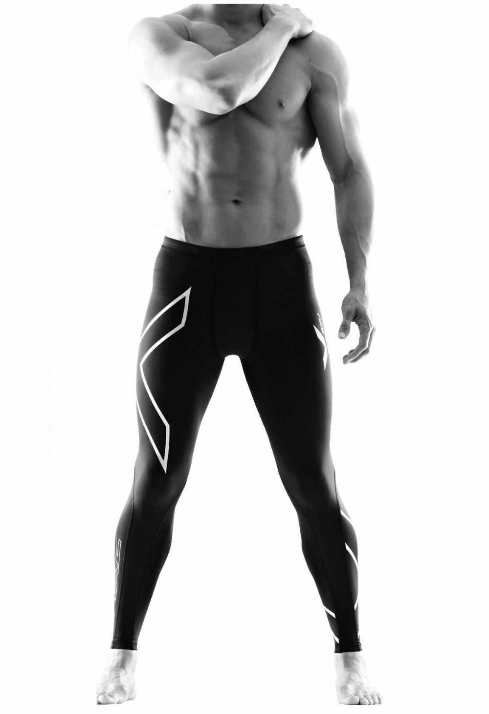 Calça Compressão Corrida Musculação Térmica Masculina 2XU (similar)