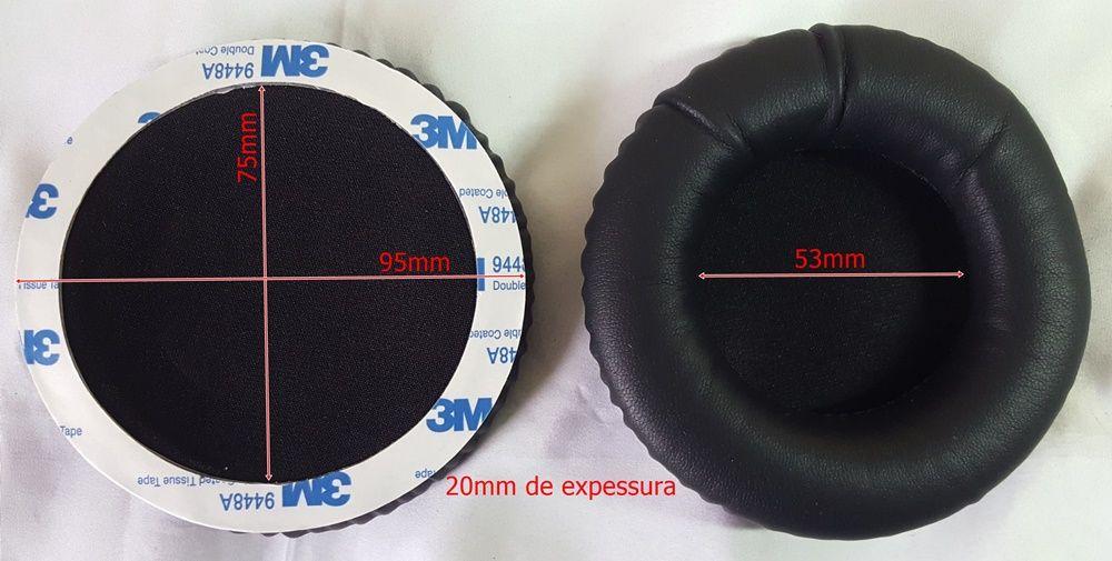 Espuma Fone Headset Steelseries Siberia V1 V2 V3