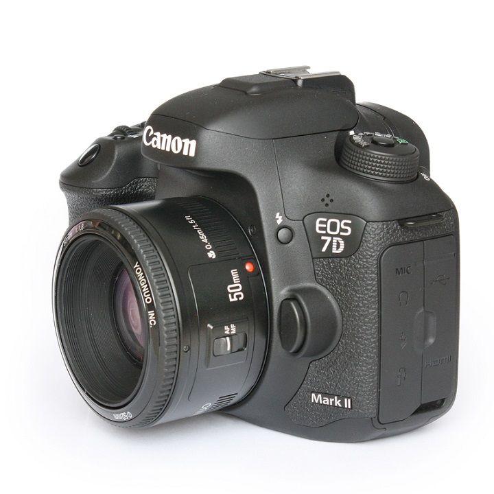 Lente Yongnuo Yn50mm F/1.8 Para Câmeras Canon