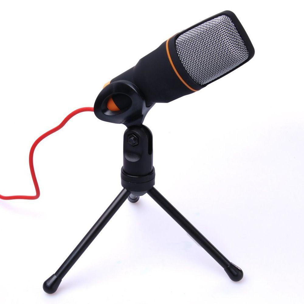 Microfone Condensador notebook com Extensor de 1,8m
