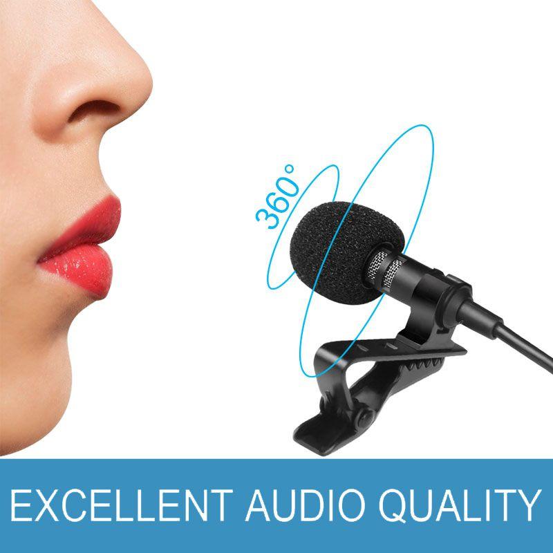 Microfone Lapela conexão P3 para celular ( IOS, ANDROID ) tablet´s, e notebook´s mais atuais