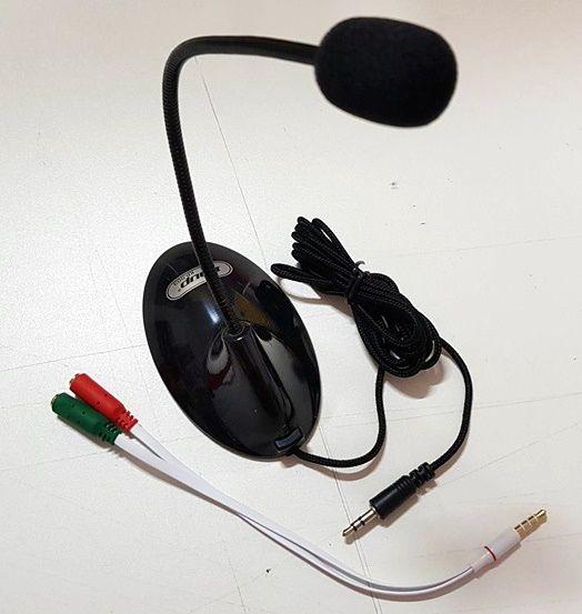 Microfone Tipo Pedestal para celular e computador PC