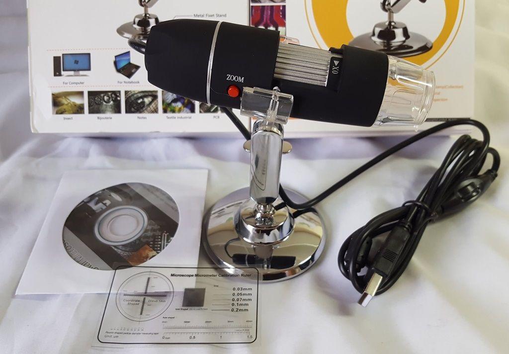 MICROSCÓPIO DIGITAL 1600X