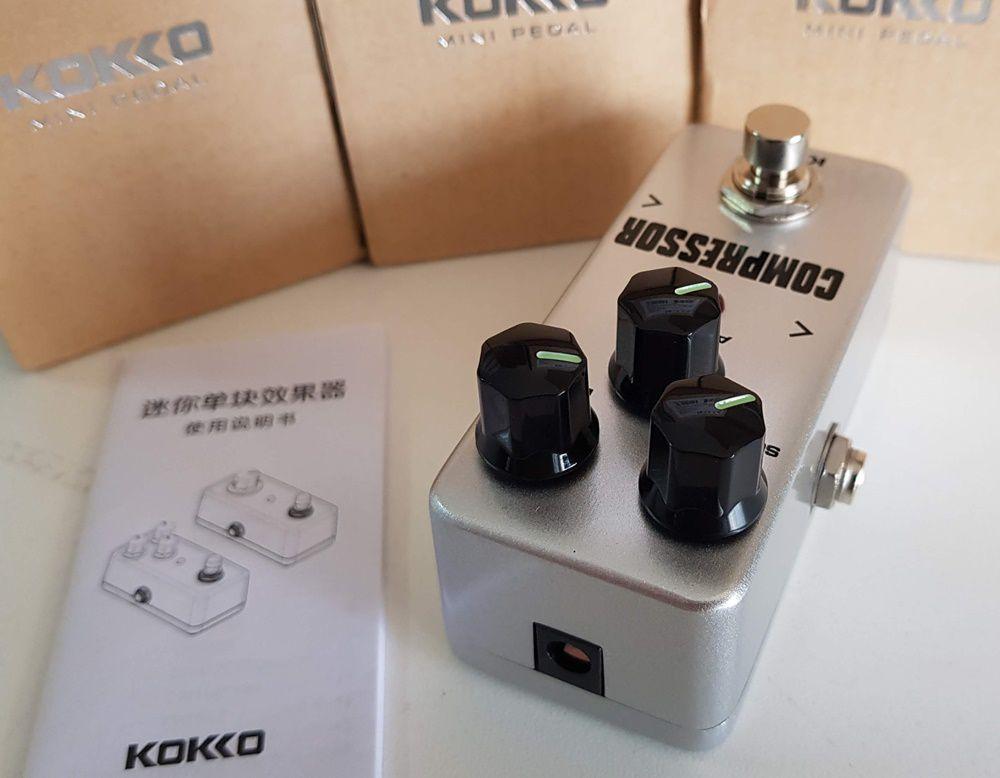 Pedal Compressor Kokko para guitarra violão baixo
