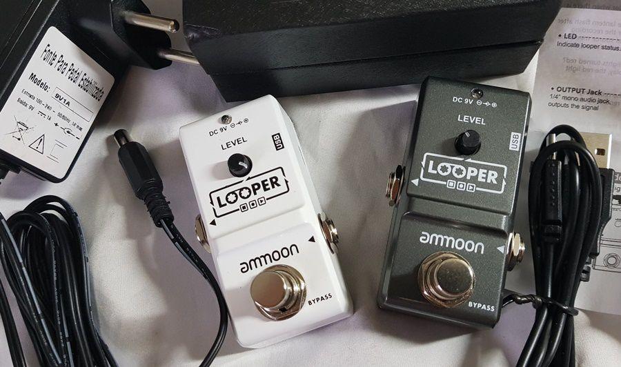 Pedal de efeito Loop Looper Ammoon Modelo AP-09