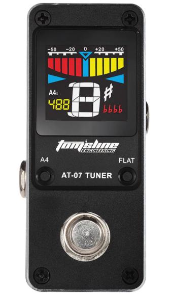 Pedal Tuner TomSline AT-07 com visor colorido