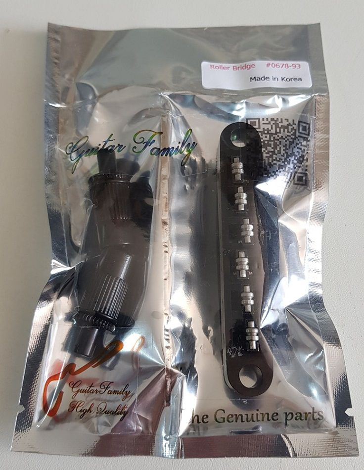 Ponte Tune Roller Dourada Preta e Prata Para Guitarras Tipo LesPaul Sg