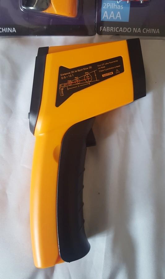 Termômetro Industrial Laser Digital Infravermelho Profissional