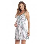 Camisola Maternidade com Abertura para Amamentação em Liganete Amni