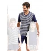 Pijama de Bermuda com Manga Curta para Homem em Viscoflex