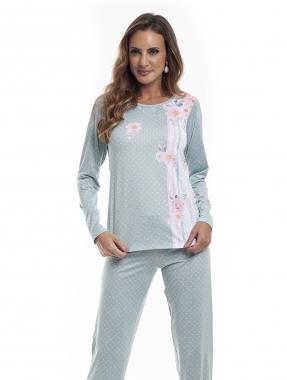 Pijama Longo Feminino para Frio Sublime Soft