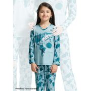 Pijama Longo infantil para Frio em Microfibra Sublime Soft