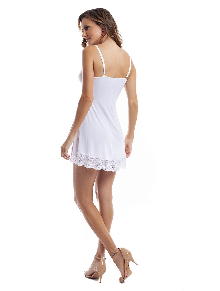 Camisola Sensual com alças em Liganete Amni
