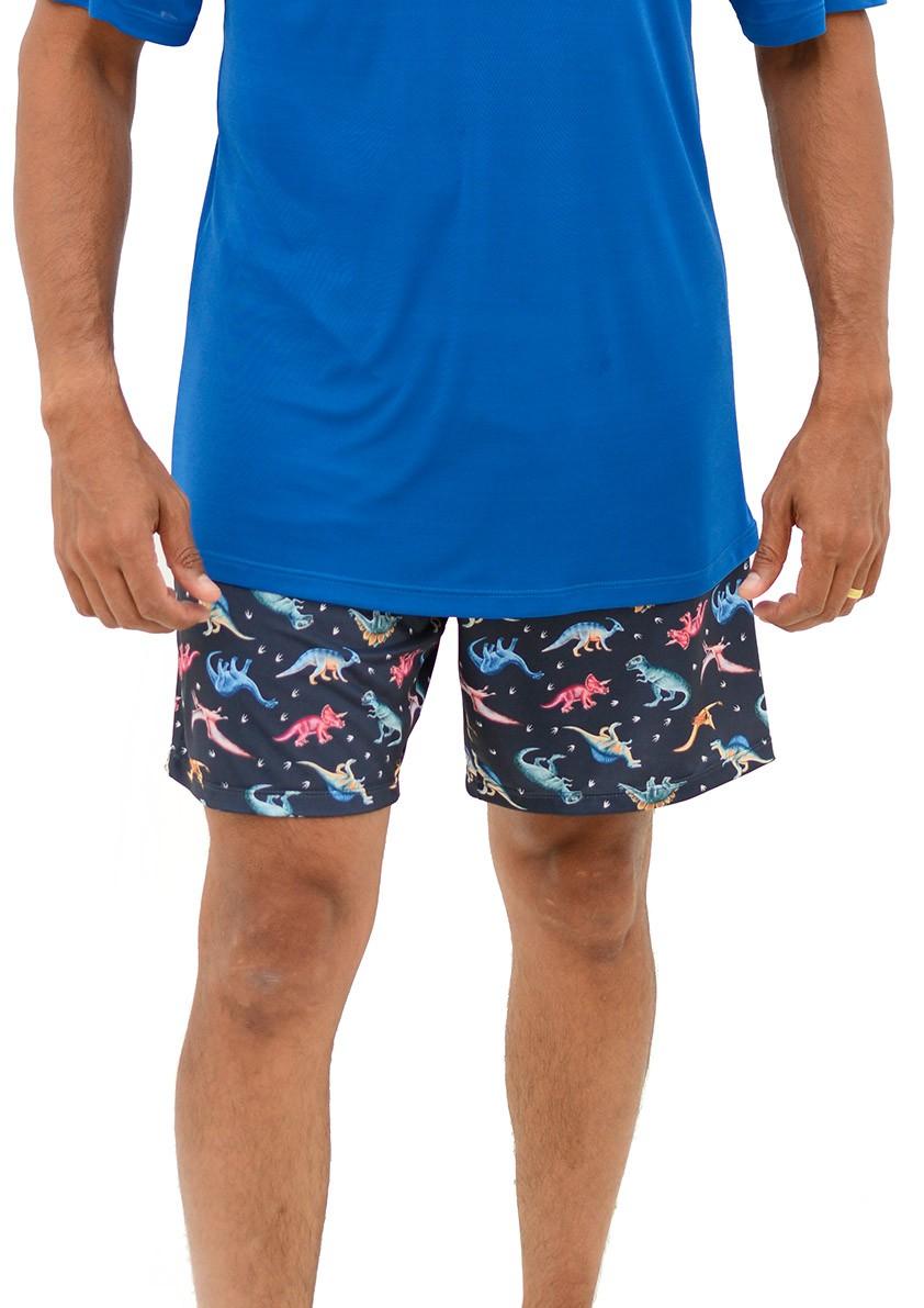 Pijama de Bermuda com Manga Curta para Homem Sublime