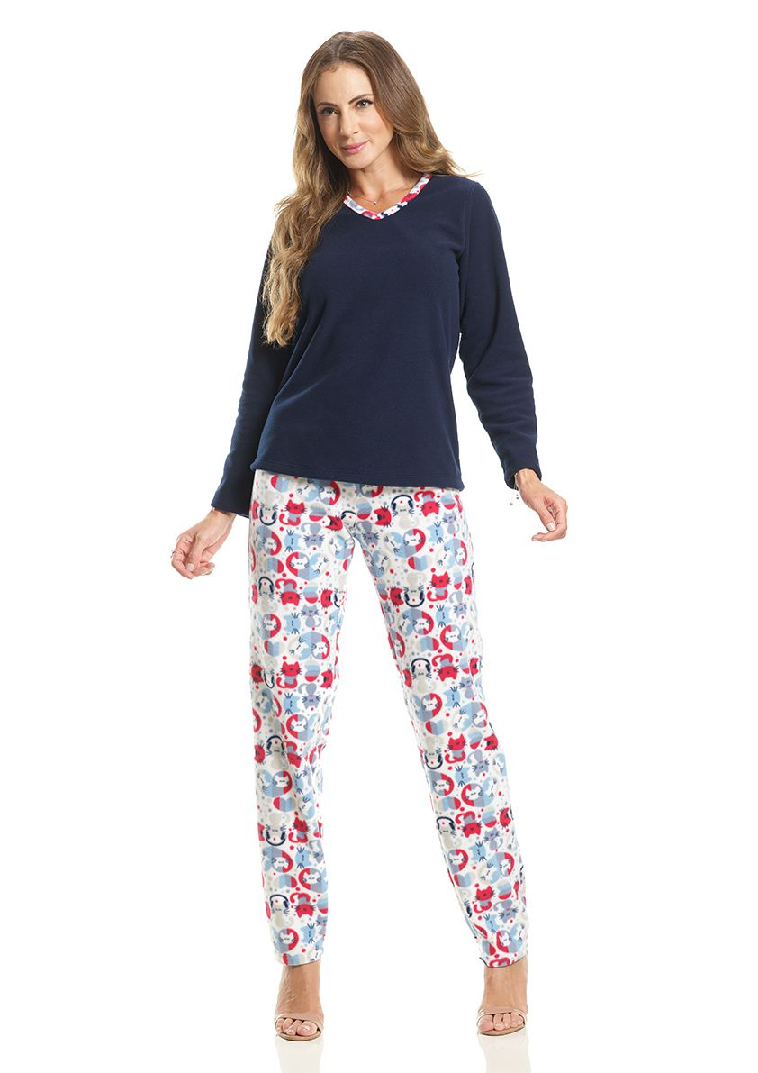 Pijama Longo para Frio em Microsoft