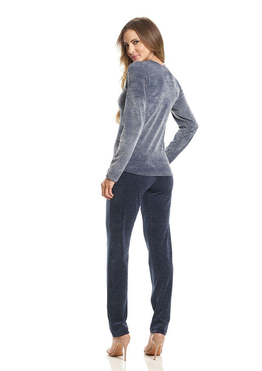 Pijama Longo para Frio em Plush