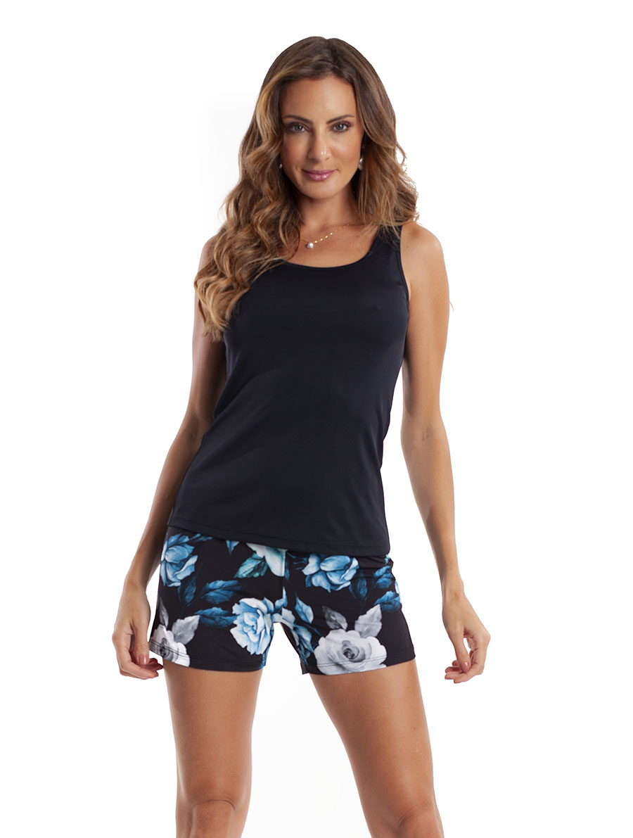Shortdoll Regata com Costas Cavada em Liganete Super Light