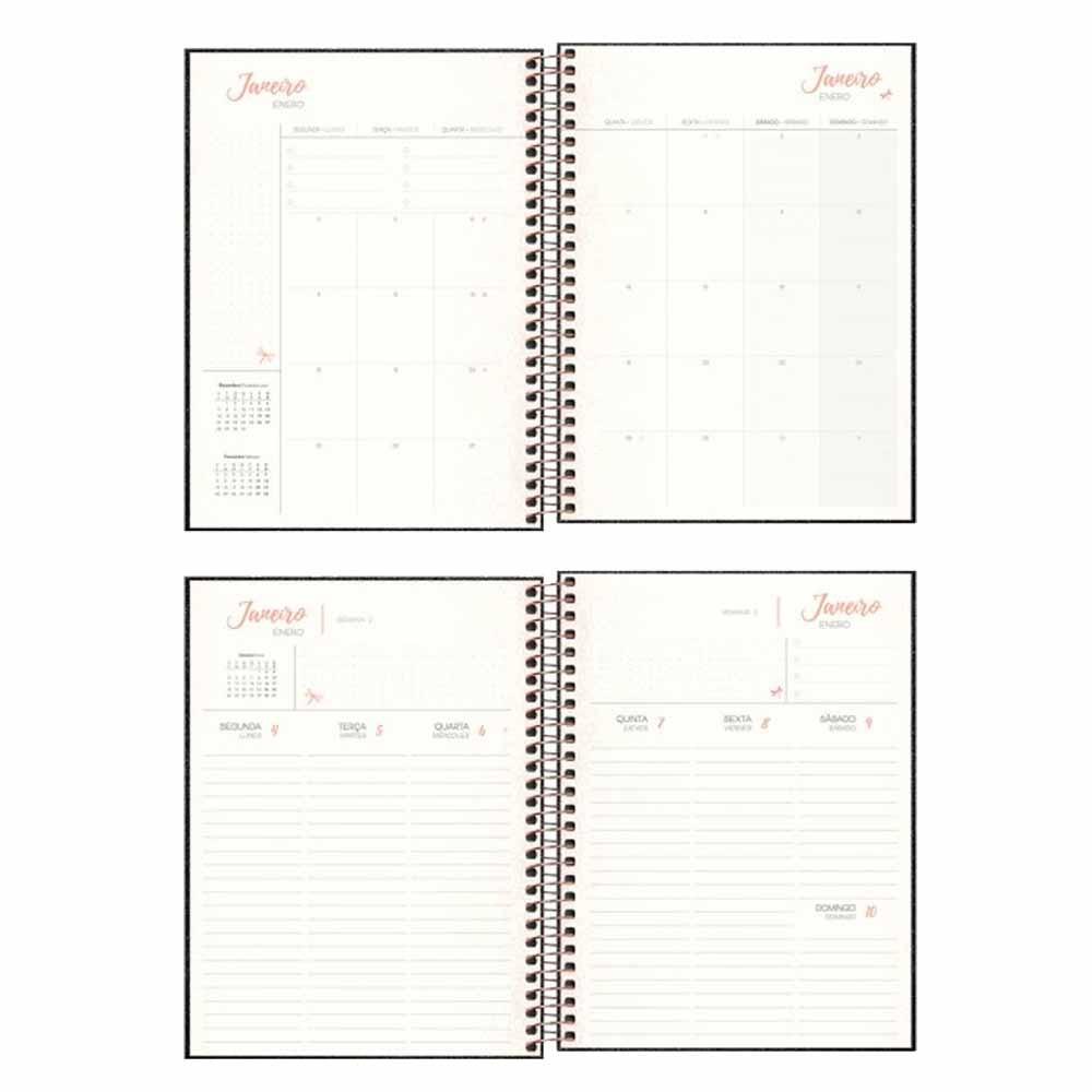 Agenda Espiral Planner Shine - Tilibra