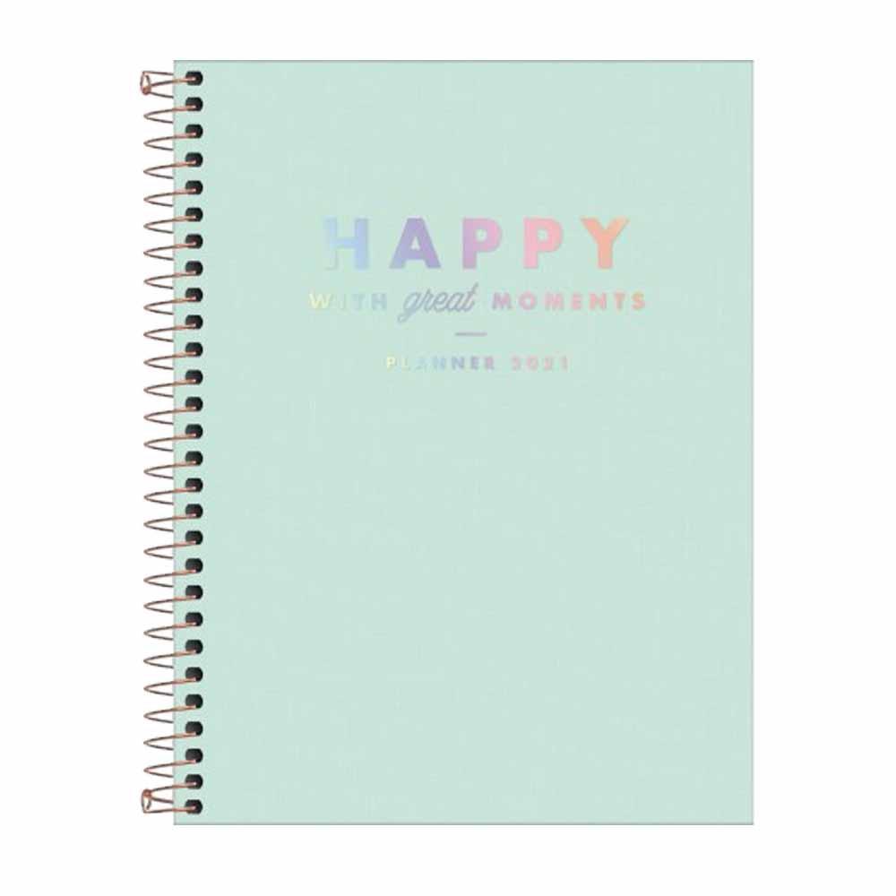 Agenda Planner Happy Verde - Tilibra
