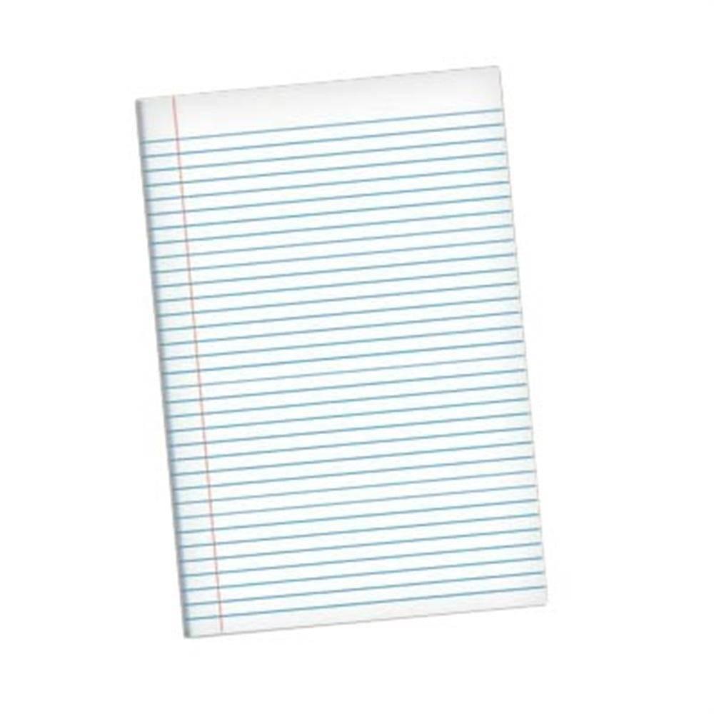 Papel Almaço Pautado c/ Margem 10 fls - Lettera