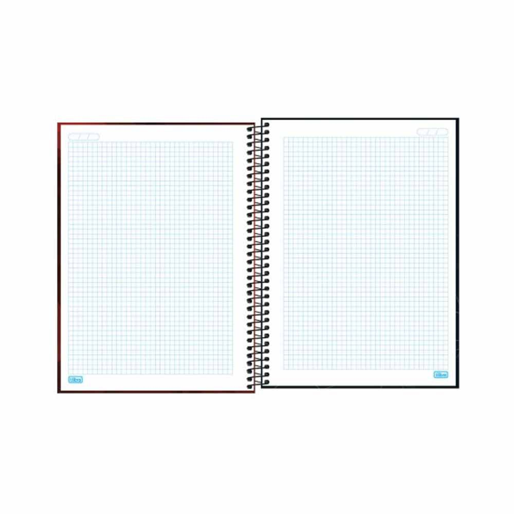 Caderno CD Quadriculado Universitário Zip 96Fls - Tilibra