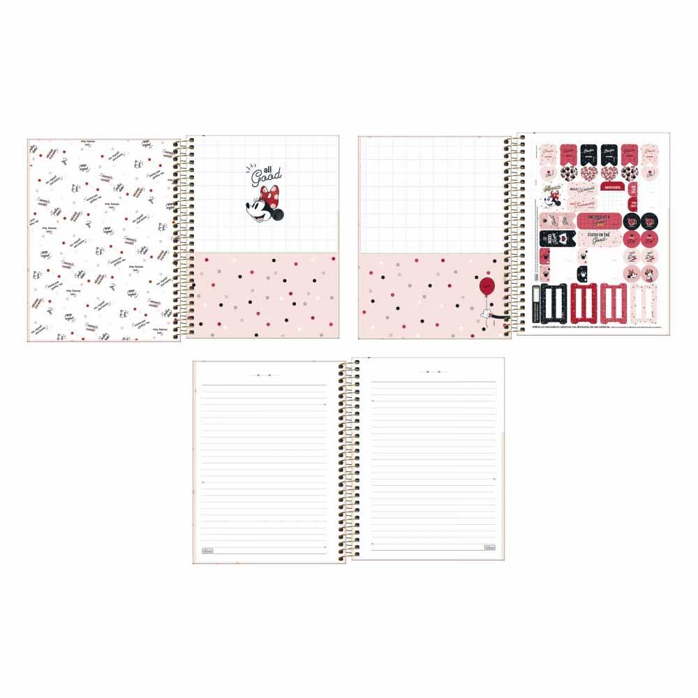 Caderno Colegial Minnie 10 Matérias - Tilibra
