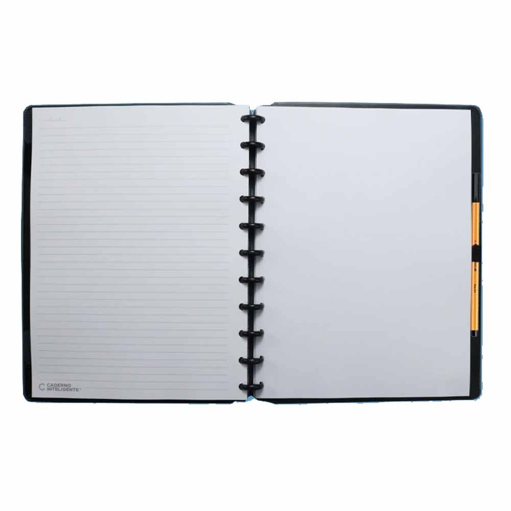 Caderno Inteligente Grande Basic Grey