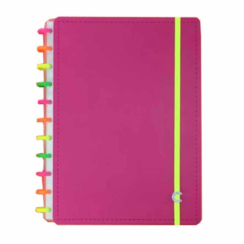 Caderno Inteligente Grande Neon Vibes CIGD4061