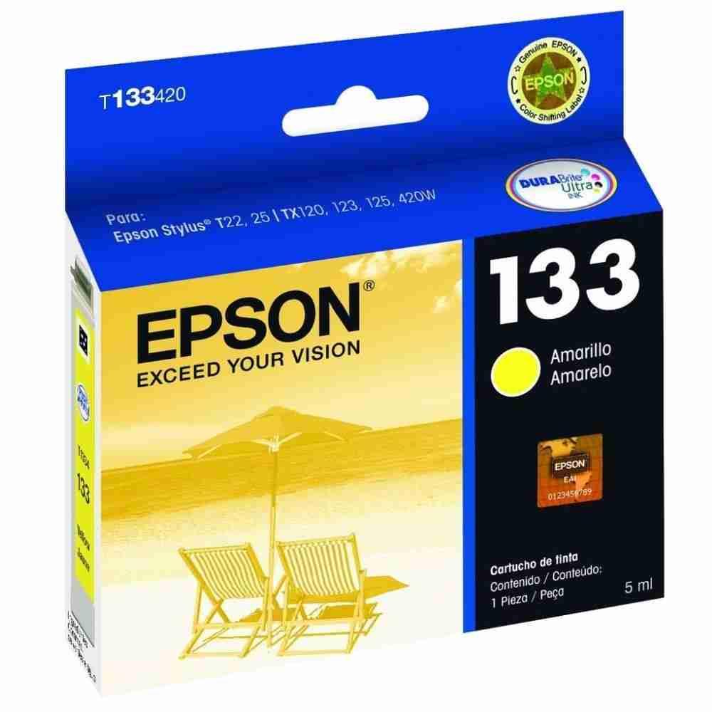 Cartucho Epson T133420 - Yellow - Original