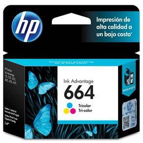 Cartucho HP 664 Color - Original