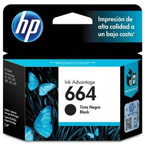 Cartucho HP 664 Preto - Original