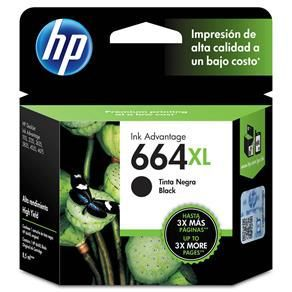 Cartucho HP 664XL Preto - Original
