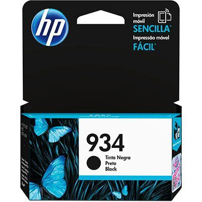 Cartucho HP 934 - C2P19AL Preto - Original