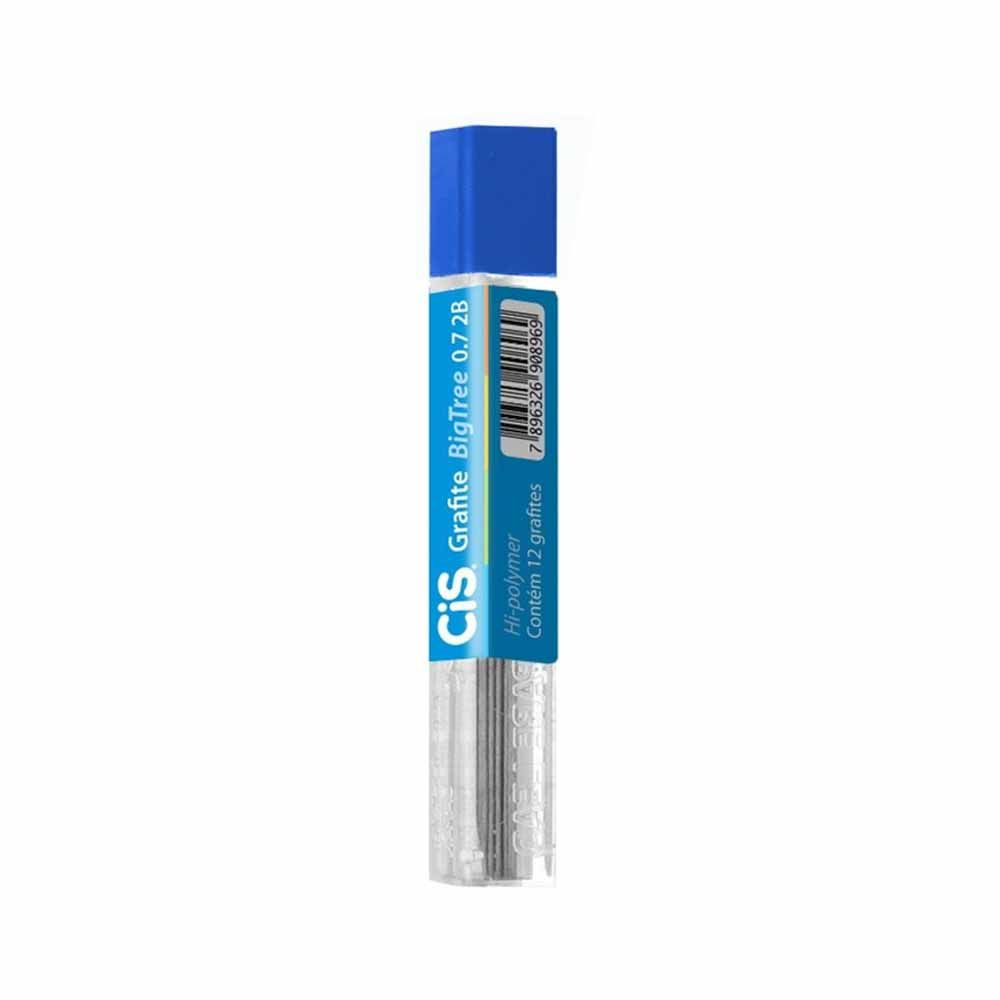 Grafite 0.7mm 2B c/12 minas - CIS