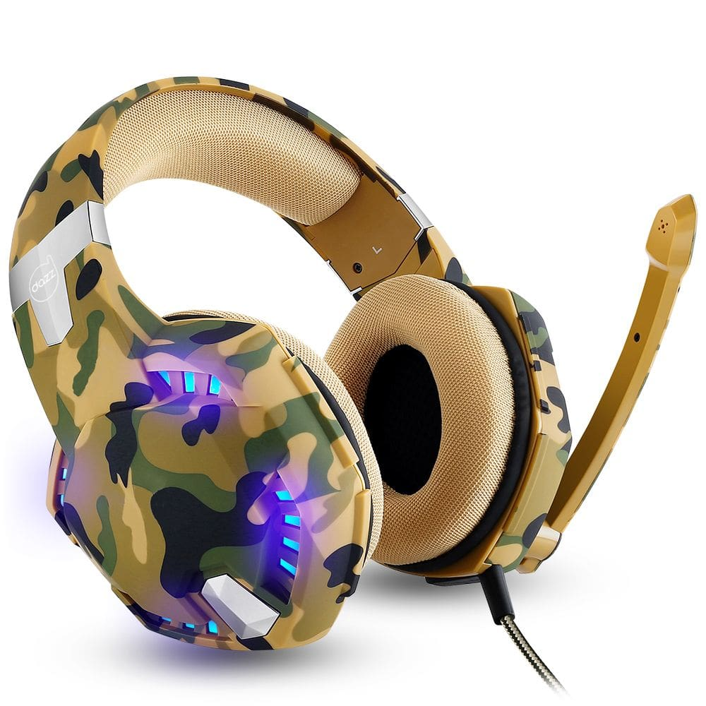 Headset Gamer Special Forces Jungle 3.5MM P3 - DAZZ
