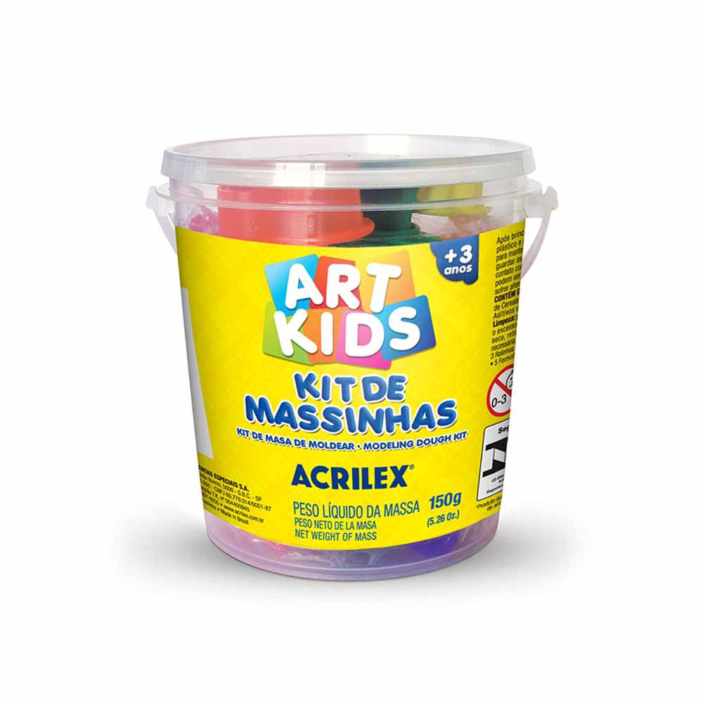Kit Massinha Modelar ART KIDS - 150G - ACRILEX